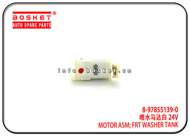 China 8-97855139-0 8978551390 Isuzu NPR Parts Front Washer Tank Motor Assembly For 4HK1 700P NKR factory