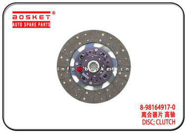 China 700P Isuzu NPR Parts Clutch Disc 8-98164917-0 5-87610092-BVP 8981649170 587610092BVP supplier