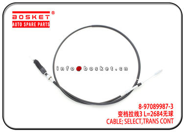 China 8-97089987-3 8970899873 Transmission Control Select Cable For ISUZU 4JB1 MSB5M NKR55 factory