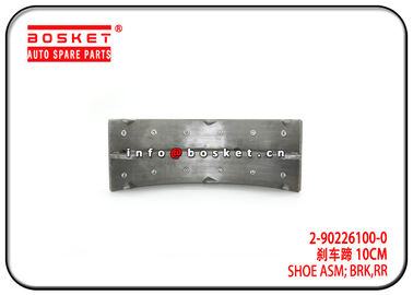 China Mexico Market 4HE1 ELF400 NPR Rear Brake Shoe Assembly 2-90226100-0 2902261000 factory