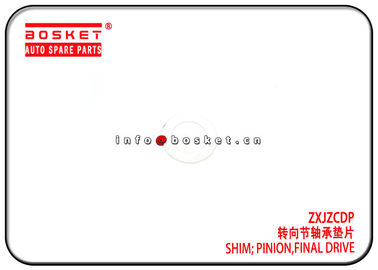 ZXJZCDP Isuzu Truck Parts Final Drive Pinion Shim Metal Material