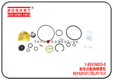 1-85576033-0 1855760330 Isuzu CXZ Parts Relay Valve Repair Kit For 10PE1 CXZ81