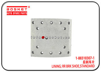 China 1-88310307-1 1883103071 Standard Rear Brake Shoe Lining For ISUZU 6WF1 CXZ51K factory