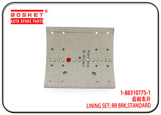 China Standard Rear Brake Lining Set For ISUZU 6WF1 CYZ EXZ 1-88310775-1 1-47126093-0 1883107751 1471260930 factory