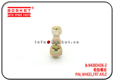 China 8-94383436-2 8-98007973-0 Front Axle Wheel Pin For ISUZU NPR NKR 600P 8943834362 8980079730 factory