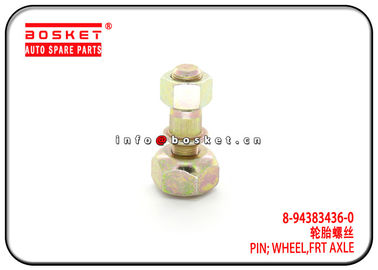 China 8-94383436-0 8943834360 Front Axle Wheel Pin For ISUZU NPR NKR 600P factory