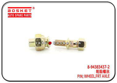 China Front Axle Wheel Pin L For ISUZU NPR NKR 600P 8-94383437-2 8-98007974-0 8943834372 8980079740 factory