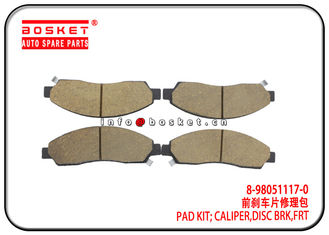 China ISUZU DMAX 4X4 TFR Front Disc Brake Caliper Pad Kit 8-98051117-0 8980511170 factory