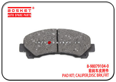 China ISUZU D-MAX09 TFR Front Disc Brake Caliper Pad Kit 8-98079104-0 8980791040 factory