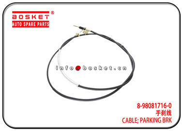 China 4HK1 700P Isuzu Brake Parts 8-98081716-0 8980817160 Parking Brake Cable factory