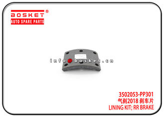 China 700P Isuzu Brake Parts 3502053-PP301 3502053PP301 Rear Brake Lining Kit factory
