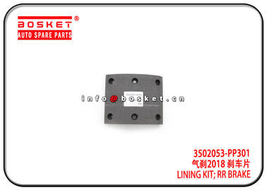 700P Isuzu Brake Parts 3502053-PP301 3502053PP301 Rear Brake Lining Kit