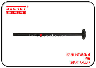 High Performance Isuzu NPR Parts BZ 8H 19T 880MM Rear Axle Shaft