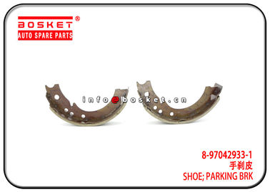 China 4JB1 NKR55 Isuzu Brake Parts 8-97042933-1 8970429331 Parking Brake Shoe factory
