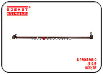 China 4JB1 NKR55 Truck Chassis Parts 8-97061866-0 8970618660 Isuzu Tie Rod factory