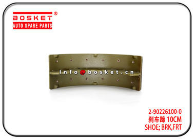 China 2-90226100-0 2902261000 Front Brake Shoe For ISUZU 4HE1 NPR High Stabilty factory