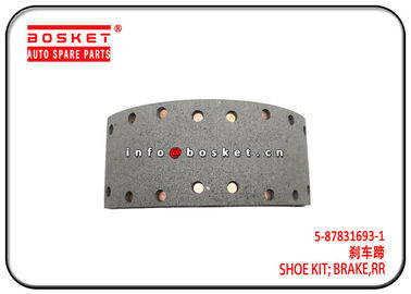 China 4HK1 700P NPR Isuzu Brake Parts Rear Brake Shoe Kit 5-87831693-1 5878316931 factory