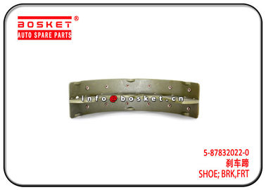 China NPR Isuzu Brake Parts Front Brake Shoe 5-87832022-0 5878320220 factory