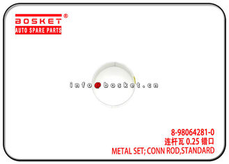 6HK1 Isuzu FVR Parts Standard Conn Rod Metal Set 8-98064281-0 8-97131186-1 8980642810 8971311861
