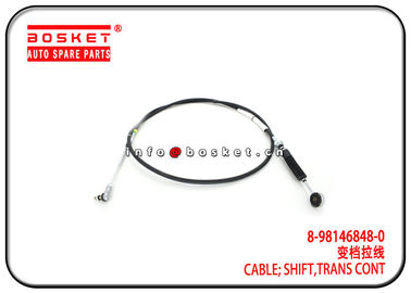 China Isuzu 4HG1 NQR71 NPR Transmission Control Shift Cable 8-98146848-0 8981468480 factory
