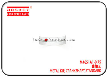China 4JB1 M4651A1-0.75 M4651A10.75 Isuzu Truck Parts Standard Crankshaft Metal Kit factory