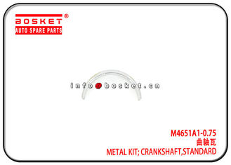 4JB1 M4651A1-0.75 M4651A10.75 Isuzu Truck Parts Standard Crankshaft Metal Kit