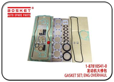 China 1-87810541-0 1878105410 Isuzu CXZ Parts Engine Overhaul Gasket Set For 6SA1 factory