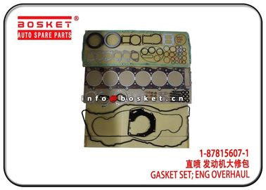 China 1-87815607-1 1878156071 Engine Overhaul Gasket Set  For Isuzu 6HK1 XE factory