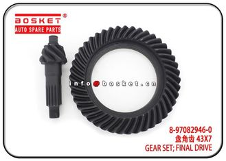 China 8-97082946-0 8970829460 Isuzu Truck Parts Final Drive Gear Set factory