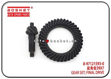 China Final Drive Gear Set Isuzu Truck Parts 8-97121593-0 8971215930 factory