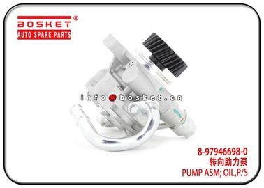 China Power Steering Oil Pump Assembly Isuzu D-MAX Parts For 4JJ1 4JK1 8-97355980-3 8-97946698-0 8973559803 8979466980 factory