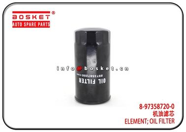 China 8-97358720-0 8973587200 Oil Filter Element For ISUZU 4JJ1 TFR 842199000 factory
