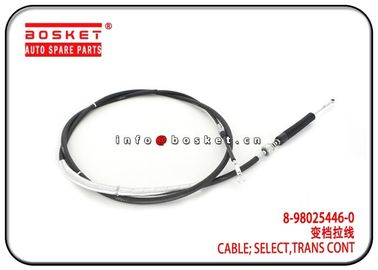 China ELF 400 500 600 BUS Isuzu NPR Parts 8-98025446-0 8980254460 Transmission Control Select Cable factory