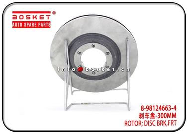 8-98124663-4 8981246634 Isuzu D-MAX Parts 4X4  Front Disc Brake Rotor