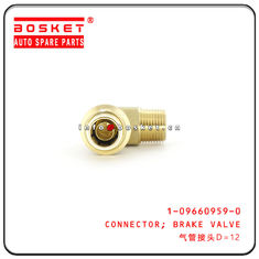 China 1-09660959-0 1096609590 Brake Valve Connector For ISUZU CXZ51K EXR factory