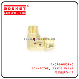 1-09660959-0 1096609590 Brake Valve Connector For ISUZU CXZ51K EXR