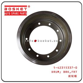 China 1-42315337-0 1423153370 Truck Chassis Parts  ISUZU 10PE1 CXZ81K Front Brake Drum factory