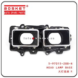 5-97015-288-R 597015288R Isuzu Body Parts Head lamp Base For NKR NPR