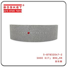 China 5-87832047-2 5878320472 Rear Brake Shoe Kit For ISUZU 4HK1 NPR factory