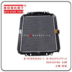 4JA1 TFR54 Isuzu Engine Parts 8-97093692-1 8-94474171-4 8970936921 8944741714 Radiator Assembly