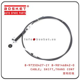 China 4HG1 Isuzu NPR Parts Transmission Control Shift Cable 8-97350427-ZY 8-98146842-0 897350427ZY 8981468420 factory