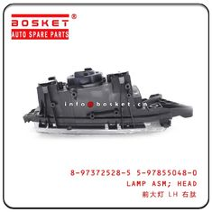 China 4KH1 600P Isuzu NPR Parts Head Lamp Assembly 8-97372528-5 5-97855048-0 8973725285 5978550480 Head Lamp Assembly factory
