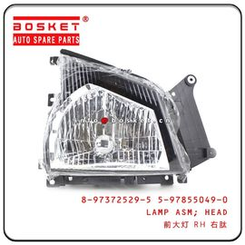 China Isuzu 4KH1 600P Head Lamp Assembly RH 8-97372529-5 5-97855049-0 8973725295 5978550490 factory