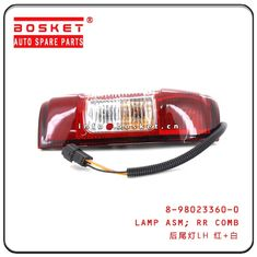 8-98023360-0 8980233600 Isuzu D-MAX Parts Rear Combination Lamp Assembly