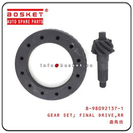 China 8-98092137-1 8980921371 Rear Final Drive Gear Set Isuzu Genuine Parts factory
