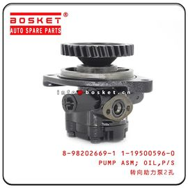 China ISUZU 6HE1 LT Truck Chassis Parts Power Steering Oil Pump Assembly 8-98202669-1 1-19500596-0 8982026691 1195005960 factory