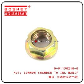 0-91150210-0 0911502100 Isuzu Engine Parts Common Chamber To Inlet Manifold Nut For 4JB1 NKR55