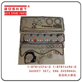 1878123160 1878144960 Engine Overhaul Gasket Set For Isuzu 6HK1 FVR34 1-87812316-0 1-87814496-0
