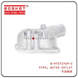 China 4HE1 4HF1 Isuzu NPR Parts Water Outlet Pipe 8-97372769-2 8973727692 factory