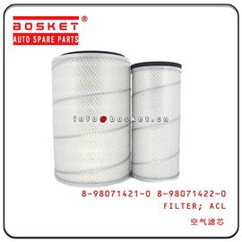 China 8980714220  Isuzu 4H6H FRR90 FVR34 Air Cleaner Filter 8980714210 8-98071421-0 8-98071422-0 factory